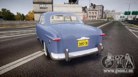 Ford Custom Tudor 1949 v2.1 pour GTA 4 Vue arrière de la gauche