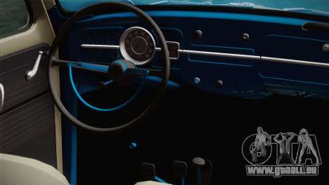 Volkswagen Fusca 1974 für GTA San Andreas rechten Ansicht