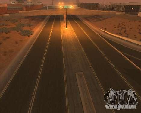 New Roads pour GTA San Andreas deuxième écran