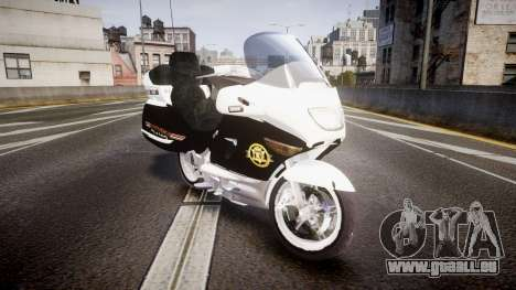 BMW K1200LT Police [ELS] für GTA 4