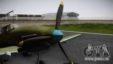 ИЛ-10 Korean Air Force pour GTA San Andreas vue de droite