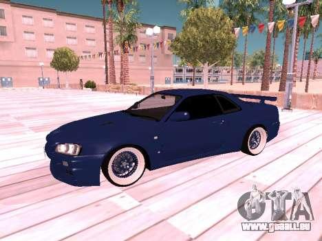 Nissan Skyline pour GTA San Andreas