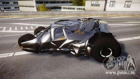 Batman tumbler [EPM] pour GTA 4 est une gauche
