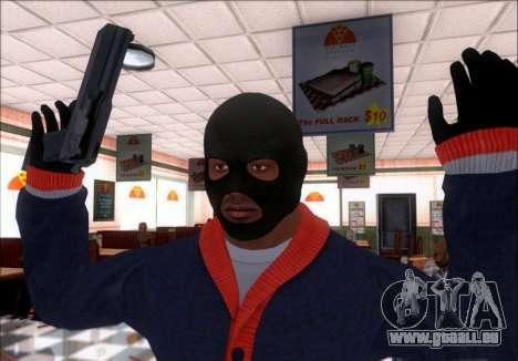Franklin (le Voleur) de GTA 5 pour GTA San Andreas
