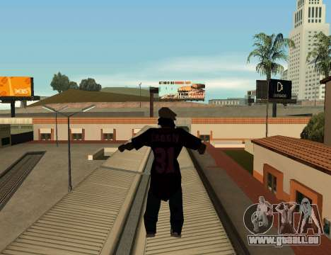 Cleo Slap pour GTA San Andreas deuxième écran