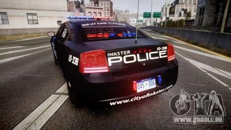 Dodge Charger 2010 Police K9 [ELS] für GTA 4 hinten links Ansicht