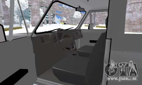 Aro 242 pour GTA San Andreas vue de dessous