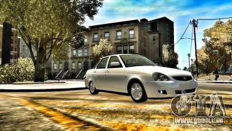 Lada 2170 Stock pour GTA 4