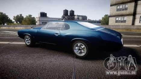 Classique Stallion Fastback für GTA 4 linke Ansicht