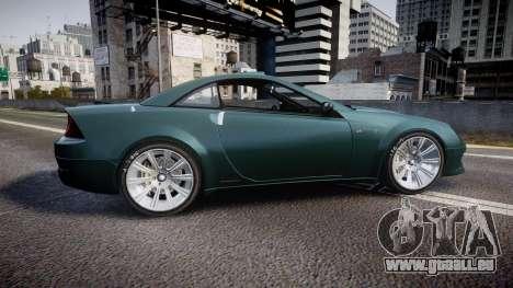 Benefactor Feltzer V8 Sport für GTA 4 linke Ansicht