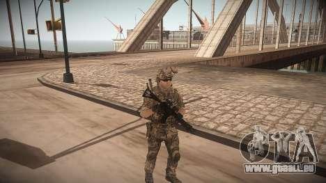 Animation de CoD MW3 pour GTA San Andreas