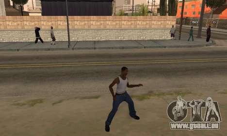 Dance für GTA San Andreas
