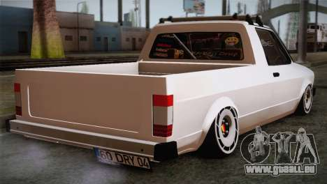 Volkswagen Caddy DRY Garage für GTA San Andreas linke Ansicht