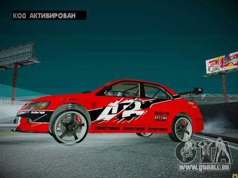 Mitsubishi Lancer Tokyo Drift für GTA San Andreas