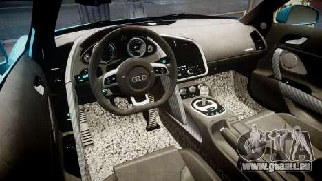Audi R8 Tron Legacy [EPM] pour GTA 4 Vue arrière