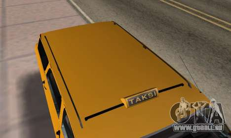 Renault 12 SW Taxi pour GTA San Andreas