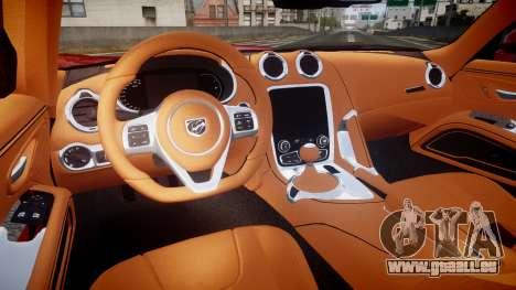 Dodge Viper SRT 2013 rims1 pour GTA 4 Vue arrière