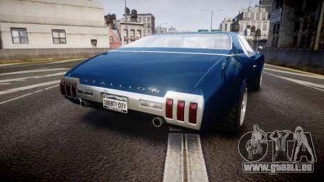 Classique Stallion Fastback für GTA 4 hinten links Ansicht