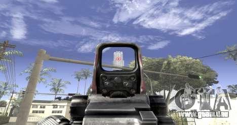 Sniper scope mod pour GTA San Andreas troisième écran