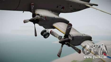Lockheed P-3 Orion MLD New für GTA San Andreas rechten Ansicht
