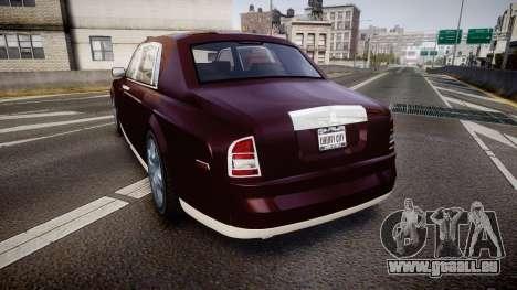 Rolls-Royce Phantom EWB v3.0 für GTA 4 hinten links Ansicht