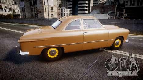 Ford Business 1949 v2.1 pour GTA 4 est une gauche