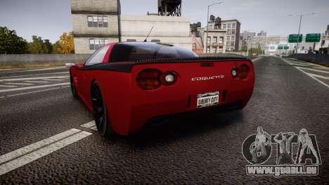 Invetero Coquette Spec-R1 für GTA 4 hinten links Ansicht