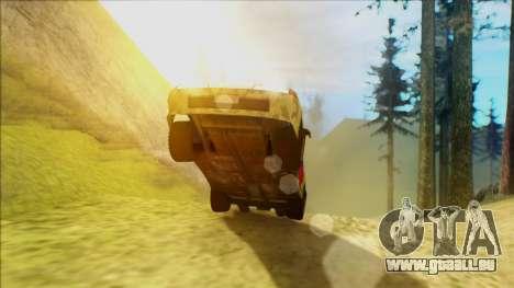 Elegy 23 February pour GTA San Andreas sur la vue arrière gauche