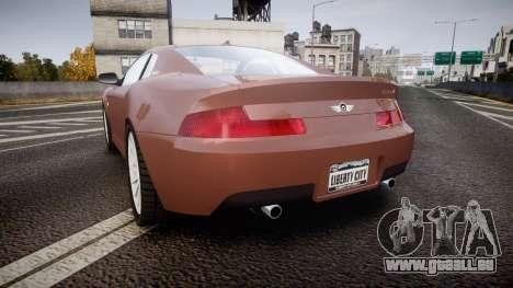 Dewbauchee XSL650R für GTA 4 hinten links Ansicht