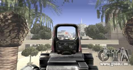 Sniper scope mod pour GTA San Andreas quatrième écran