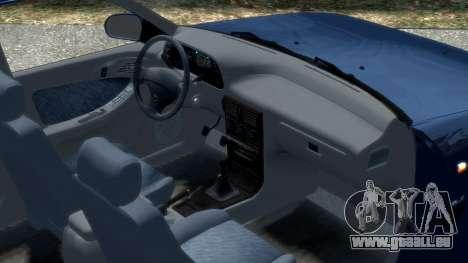 Daewoo Espero 1.5 GLX 1996 pour GTA 4 est une vue de l'intérieur
