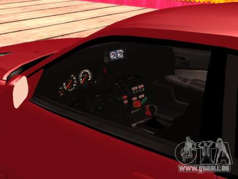 Nissan Skyline für GTA San Andreas Rückansicht