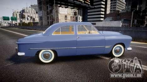 Ford Custom Tudor 1949 v2.1 pour GTA 4 est une gauche