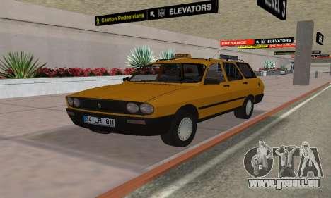 Renault 12 SW Taxi für GTA San Andreas