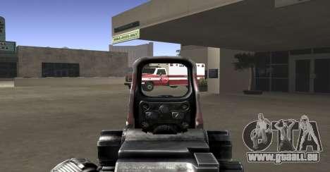 Sniper scope mod für GTA San Andreas zweiten Screenshot
