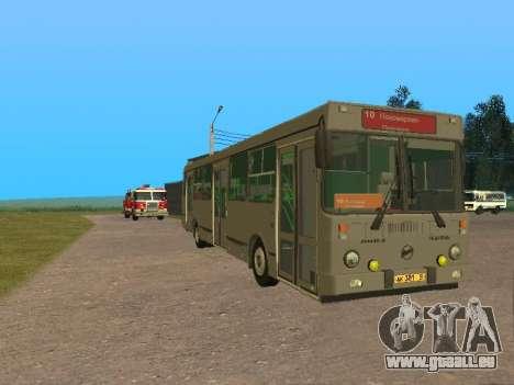 LiAZ 5256 pour GTA San Andreas laissé vue