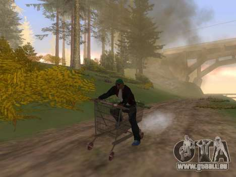 Shopping Cart pour GTA San Andreas