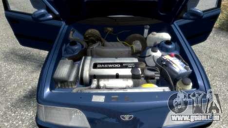 Daewoo Espero 1.5 GLX 1996 für GTA 4 Räder