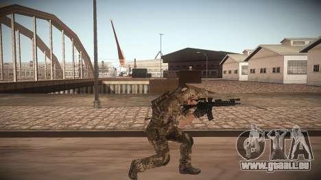 Animation de CoD MW3 pour GTA San Andreas troisième écran