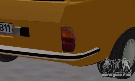 Renault 12 SW Taxi pour GTA San Andreas salon