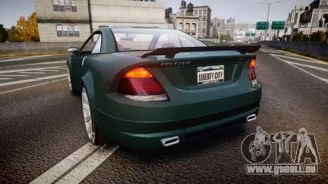 Benefactor Feltzer V8 Sport für GTA 4 hinten links Ansicht