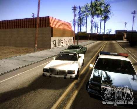 Glazed Graphics pour GTA San Andreas deuxième écran