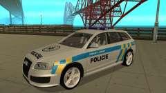 Audi RS6 Combi Police Czech Republic