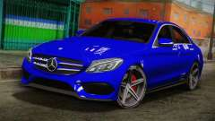 Mercedes-Benz C250 AMG Edition 2014 SA Plate