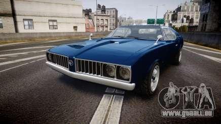 Classique Stallion Fastback pour GTA 4