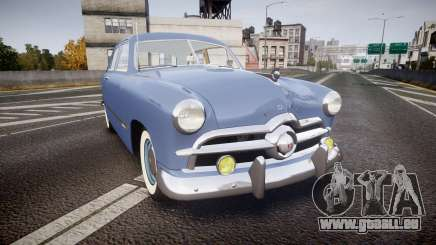 Ford Custom Tudor 1949 v2.1 pour GTA 4