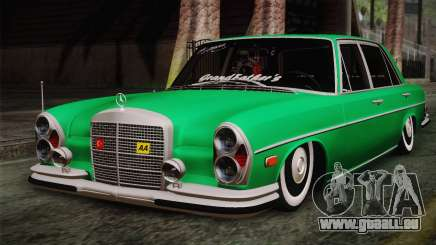 Mercedes-Benz 300 SEL DRY Garage pour GTA San Andreas