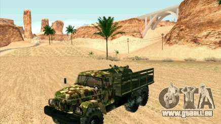 ZIL 131 Shaitan Arba pour GTA San Andreas