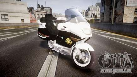 BMW K1200LT Police [ELS] pour GTA 4