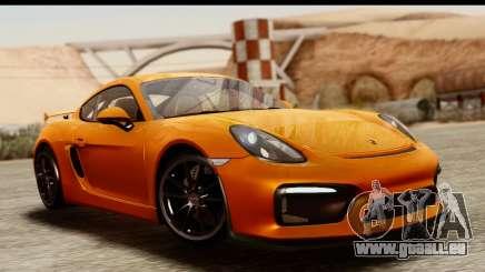 Porsche Cayman GT4 981c 2016 pour GTA San Andreas